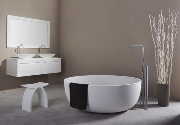 278613 SolidRound Bath