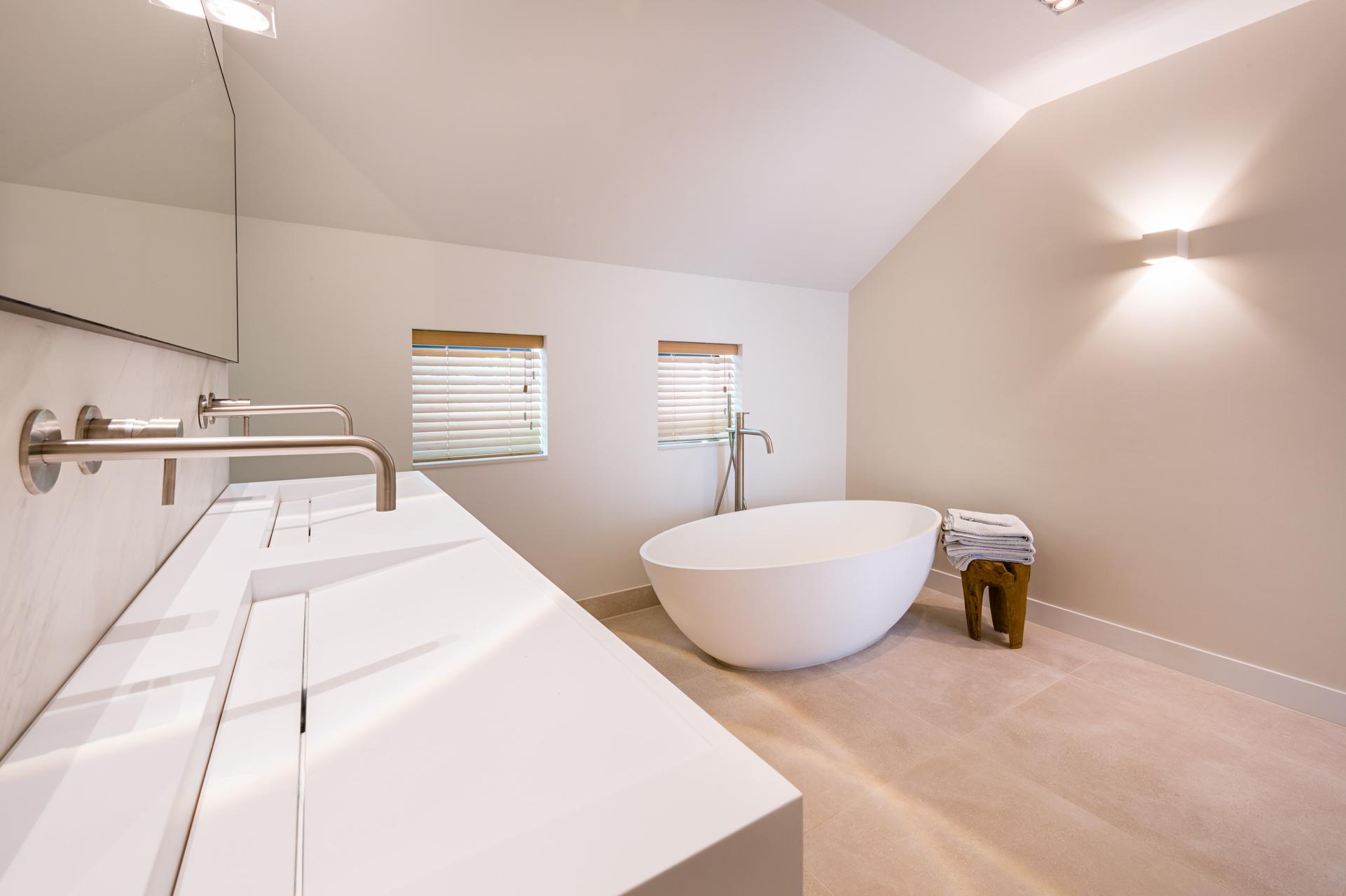 RVS kranen badkamer