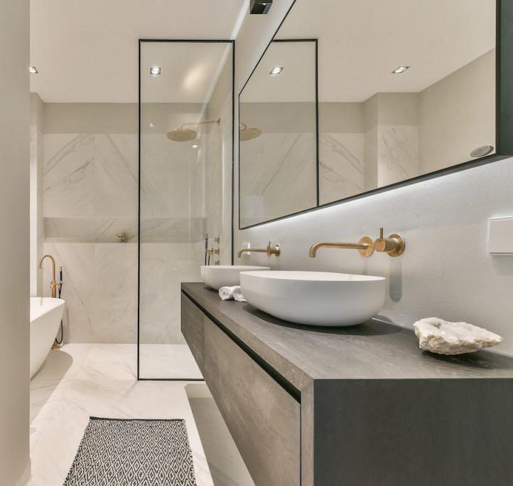 Eiken badkamermeubels
